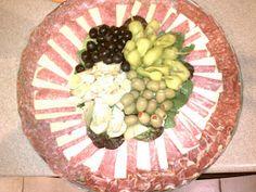 Antipasto tray