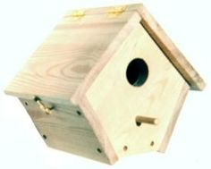 DIY~Wren Bird House Plans and many more