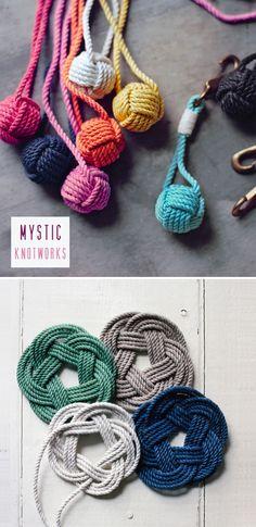 Mystic Knotworks in Martha Stewart by photographer John Dolan