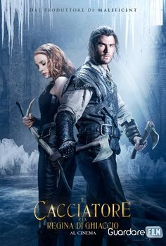 Universal Pictures released the first trailer for The Huntsman: Winter's War starring Chris Hemsworth, Charlize Theron, Jessica Chastain, and Emily Blunt. Hd Movies, Movies To Watch, Movies Online, Action Movies, Movies Box, Bon Film, Drama Film, Chris Hemsworth, Film Music Books