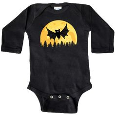 inktastic Trick or Treating with My Mom with Cute Witch Owls Long Sleeve Creeper