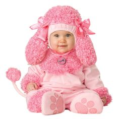 buy lil characters unisex baby infant poodle costume at wish shopping made fun - Halloween Costume For Baby Girls