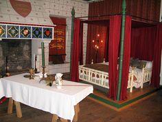 medieval bedroom - Google Search