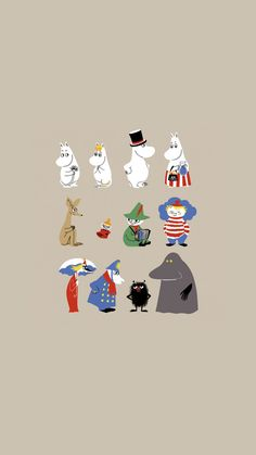 How Moomin are you? Little My Moomin, Moomin Wallpaper, Pattern Wallpaper, Moomin Cartoon, Wallpaper Backgrounds, Iphone Wallpaper, Les Moomins, Moomin Valley, Tove Jansson