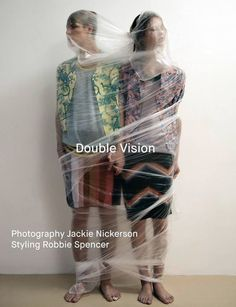 """before you kill us all: EDITORIAL Dazed Magazine Winter 2014 """"Double Vision"""" Feat. Simon Fitskie & Julie Hoomans by Jackie Nickerson Fashion Shoot, Fashion Art, Editorial Fashion, Womens Fashion, Fashion Design, Magazine Editorial, Vision Photography, Editorial Photography, Portrait Photography"""