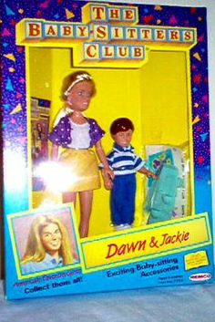 Dawn and Jackie BSC Dolls The Baby Sitters Club, 90s Toys, Kids Tv Shows, Retro 1, Childhood Toys, Growing Up, Dawn, My Books, The Past