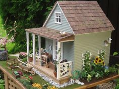 miniatyrmama: More pictures of my cottage!