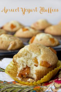 Apricot Yogurt Muffins I Heart Nap Time | I Heart Nap Time - Easy recipes, DIY crafts, Homemaking