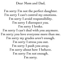 31 Ideas funny mom quotes from daughter sad Broken Family Quotes, Mom And Dad Quotes, Mom Quotes From Daughter, Funny Mom Quotes, Family Issue Quotes, Im Sorry Quotes, Hurt Quotes, Teenager Quotes, Teen Quotes
