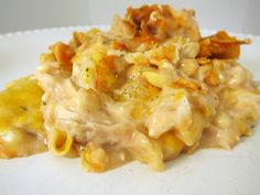 Doritos Cheesy Chicken Casserole: This was good, but it did taste an awful lot like Paula Deen's Mexican Chick recipe.
