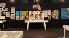 """""""Francisco Ibáñez, el Mago del Humor"""". Festival Metrópoli Gijón: #exposiciones, #tebeo, #Ibáñez, #Chicha #Tato y #Clodoveo, #ilustración, #illustration,"""