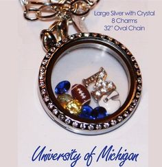 University of Michigan themed Locket