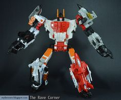 The Rave Corner: Transformers Generations Combiner Wars Superion ...