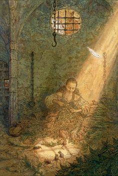 "Антон Ломаев «Дикие лебеди»   ""Картинки и разговоры"""