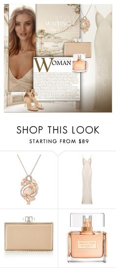 """Beige tones of elegance"" by kseniz13 ❤ liked on Polyvore featuring LE VIAN, Ghost, Judith Leiber, Whiteley, Givenchy, outfit, Elegant, beige, women and tenderness"