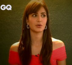 Katrina Kaif giving interview for her GQ photoshoot