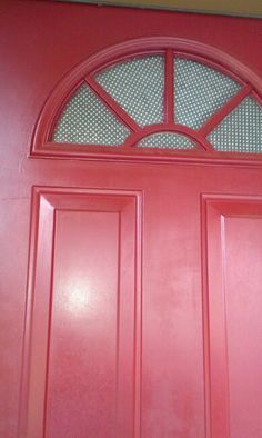 Cover Up Your Windows On Your Front Door For Privacy By Modge Podging Paper  Into The
