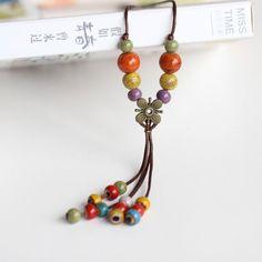 Fashion women's neckalces pendants wholesale for women ladies gift necklace retro accessory