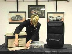 Inventory on Hand...This is a must-see for Mary Kay Consultants/How to put your products together to go from one show to another...w/o packing & repacking!  Happy Selling!~Kimberly Robyn