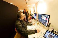 Scott Hillier, ÉCU President, looks pretty please with our production crew! Keep rockin' it editors!