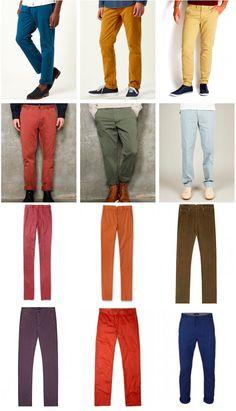 Este Otoño Invierno... ¡Jeans de colores!