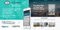 awesome Realtyspace - Real estate WordPress Theme