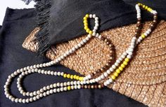 Wooden beads necklace - Cuentas de Atar