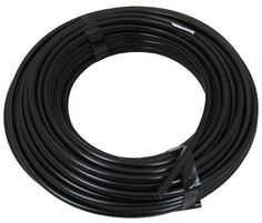 Lead Tube,Black 100' X 1/4In