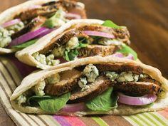Smithfield Recipes: Black and Blue Tenderloin Sandwich