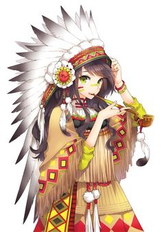 AHH! I love this! I'm very proud of my Native American heritage!