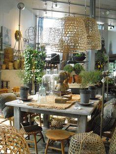 Garden essentials + decorative accessories. In-store display.