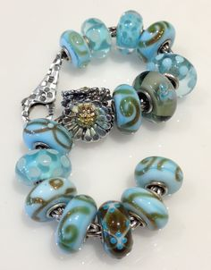 Love the color and large beads!
