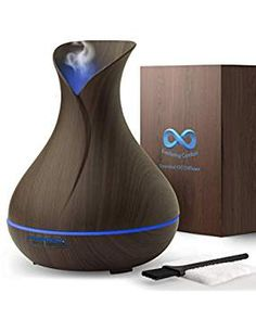 Diffuser for Essential Oils - Super High Aroma Output, FREE Cleaning Kit - Dark Wood Essential Oil Diffuser Best Essential Oil Diffuser, Best Essential Oils, Cleaning Kit, Dark Wood, Essentials, Personal Care, Free, Beauty, Personal Hygiene