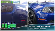 Pearl Nano Coatings - Jay from Eco Wash Hawaii - Ceramic Coating - Mustang Polished out to a mirror finish. http://Pearlnano.com http://EcoWashHawaii.com - Live on Oahu and Need your car paint corrected and coated with the Pearl nano coatings? Jay is the one to call. He is located at the Windward mall parking deck.