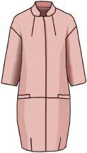 Примеры разработки моделей плащей, пальто-деми на основах рассчитанных в программе Закройщик Fashion Sewing, Boho Fashion, Womens Fashion, Dress Patterns, Sewing Patterns, Embroidery Applique, Coat, How To Wear, Jackets