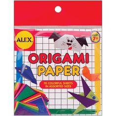 Alex Toys Origami Paper 70/Pkg-Assorted Colors - Assorted Colors