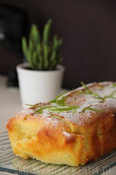 Cake Mascarpone & Citron Vert Alors là pour être moelleux, je vous certifie… Plus