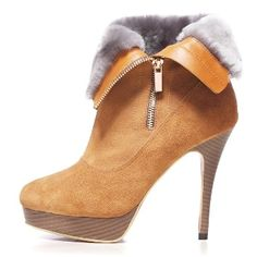 Warm Anti Flocking Fashion Ankle Boots