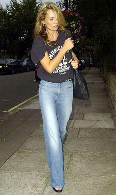 Street style look Kate Moss Looks Street Style, Looks Style, Style Me, Trendy Style, Estilo Kate Moss, Steal Her Style, Kate Moss Stil, Tilda Lindstam, Denim Fashion