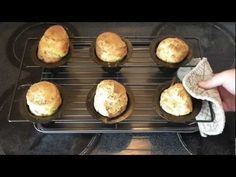 Poor Man Popovers - A muffin tin recipe that is super easy and delicious.