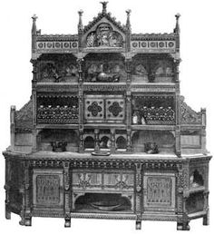 Gothic Victorian Furniture gothic victorian furniturei really need the lower part of this