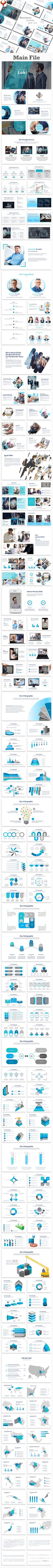 Loki Business PowerPoint Template - Business PowerPoint Templates