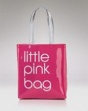 Bloomingdale's Little Pink Bag - PERSONAL COLLECTION