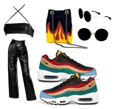 """""""Untitled #31"""" by leyirsamoht on Polyvore featuring Gucci, Yves Saint Laurent, NIKE and Miu Miu"""