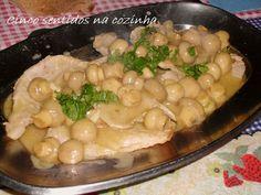 Cinco sentidos na cozinha: Bifanas com molho cremoso de cogumelos