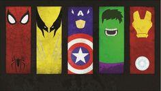 Avengers Paintings Canvas Print