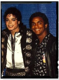 michael jackson with Alfonso Ribeiro