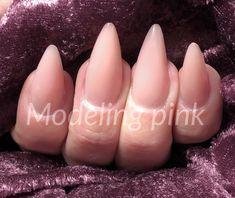 Nude negle med den nye Modeling gele som alle bare elsker at lave negle med Nye, Nailart, Candles, Pink, Candy, Candle Sticks, Pink Hair, Roses, Candle