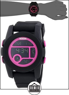 1ae69796bac1 Nixon - Reloj Digital de Cuarzo para Mujer