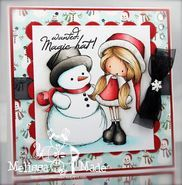 Winter Wryn | Christmas Stamps | Digital Stamp | Tiddly Inks